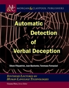 Automatic Detection of Verbal Deception - Eileen Fitzpatrick (Paperback)
