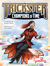 Trickster Champions of Time - Cover