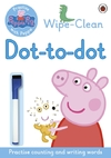 Peppa: Wipe-Clean Dot-to-Dot (Paperback)