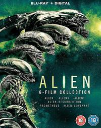 Alien: 6-film Collection (Blu-ray) - Cover
