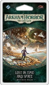 Arkham Horror: The Card Game - Lost in Time and Space (Card Game) - Cover