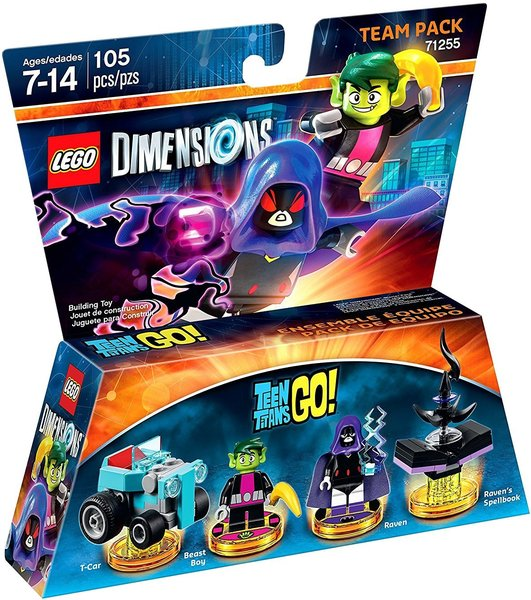 Lego Dimensions Teen Titans Go Team Pack For Ps3 Ps4