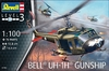 Revell - 1/100 - Bell UH-1H Gunship (Plastic Model Kit)