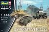 Revell - 1/144 - US Army Vehicles (WWII) (Plastic Model Kit)