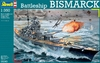Revell - 1/350 - Battleship Bismarck (Plastic Model Kit)