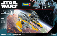 Revell - 1/58 - Star Wars Anakin's Jedi Starfighter (Plastic Model Kit) - Cover