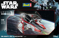 Revell - 1:58 - Star Wars Obi Wan's Jedi Starfighter (Plastic Model Kit) - Cover