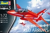 Revell - 1/72 - BAE Hawk T.1 Red Arrows (Plastic Model Kit)