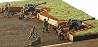 Revell - 1/72 - German Pak 40 with Soldiers (Plastic Model Kit) - Cover