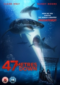 47 Metres Down (DVD) - Cover