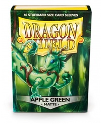Dragon Shield - Standard Sleeves - Matte Apple Green (60 Sleeves) - Cover