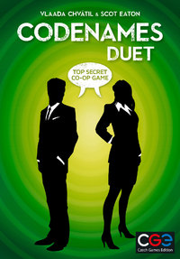 Codenames: Duet (Card Game) - Cover