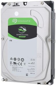 Seagate Barracuda 4TB 3.5 inch 5400rpm SATA 6GB/s Hard Drive - 256mb Cache - Cover
