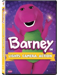Barney: Lights, Camera, Action + Way to Go (DVD)