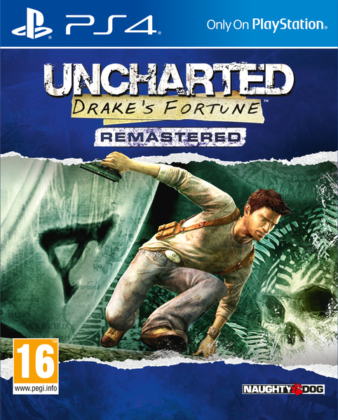 Image result for uncharted drake's fortune ps4 box art