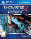 Uncharted 2: Among Thieves Remastered (PS4) Cover