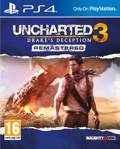 Uncharted 3 Drake S Deception Remastered Ps4 Video Games