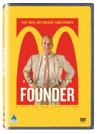 The Founder (DVD) - Cover