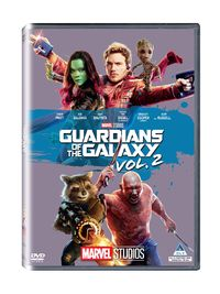 Guardians of the Galaxy Vol.2 (DVD) - Cover