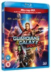 Guardians of the Galaxy Vol.2 (3D Blu-ray) Cover