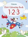 First Colouring Book 123 (Paperback)