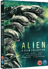 Alien Boxset (Alien, Aliens, Alien 3, Resurrection, Prometheus, Covenant) (DVD) Cover