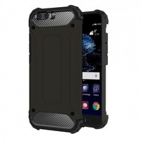 Tuff-Luv Tough Armour Layered Case for Huawei P10 - Black