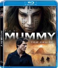 The Mummy (2017) (Blu-ray) - Cover