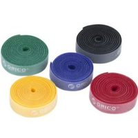 Orico velcro cable ties 5 x 1m Pack (Various colours) - Cover