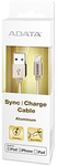 ADATA Lightning to USB Type-A USB Cable - Gold