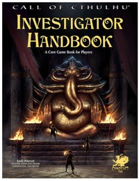 Call of Cthulhu RPG - Investigator Rulebook (Role Playing Game) - Cover