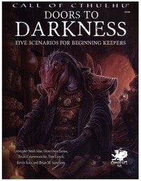 Call of Cthulhu RPG - Doors to Darkness (Role Playing Game) - Cover