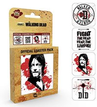 The Walking Dead - Daryl Coaster (Set of 4) - Cover