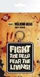 The Walking Dead - Fight The Dead Rubber Keyring Cover