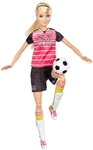 Barbie - Made to Move Posable Soccer Player Doll