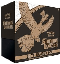 Pokémon TCG - Shining Legends: Elite Trainer Box (Trading Card Game)