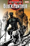 Color Your Own Black Panther - Brian Stelfreeze (Paperback)