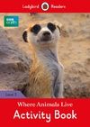 Where Animals Live Activity Book - Ladybird (Paperback)