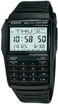 Casio Databank Digital Watch with 10-Key Calculator - Black