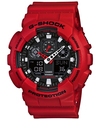 Casio G-Shock 200m Analog and Digital Watch - Red