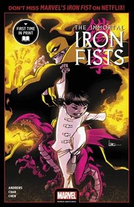 Immortal Iron Fists - Kaare Andrews (Paperback)