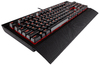 Corsair - K68 Mechanical Gaming Keyboard, Red LED, Cherry MX Red