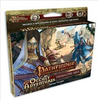 Pathfinder Adventure Card Game: Occult Adventures - Character Deck 1 (Card  Game)