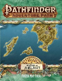 Pathfinder Campaign Setting: Ruins of Azlant Poster Map Folio (Role Playing Game) - Cover