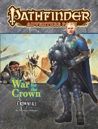 Pathfinder Adventure Path - War for the Crown: Crownfall (Role Playing Game) - Cover