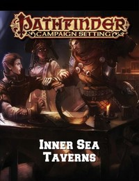 Pathfinder Campaign Setting - Inner Sea Taverns (Role Playing Game) - Cover