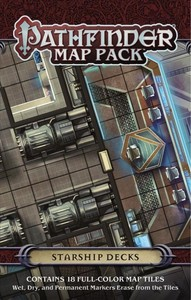 Pathfinder Map Pack - Starship Decks (Role Playing Game) - Cover