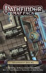 Pathfinder Map Pack - Starship Decks (Role Playing Game)