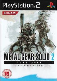 Metal Gear Solid 2: Substance (PS2) - Cover