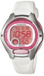 Casio Standard Collection 50m WR Digital Watch - Pink and White